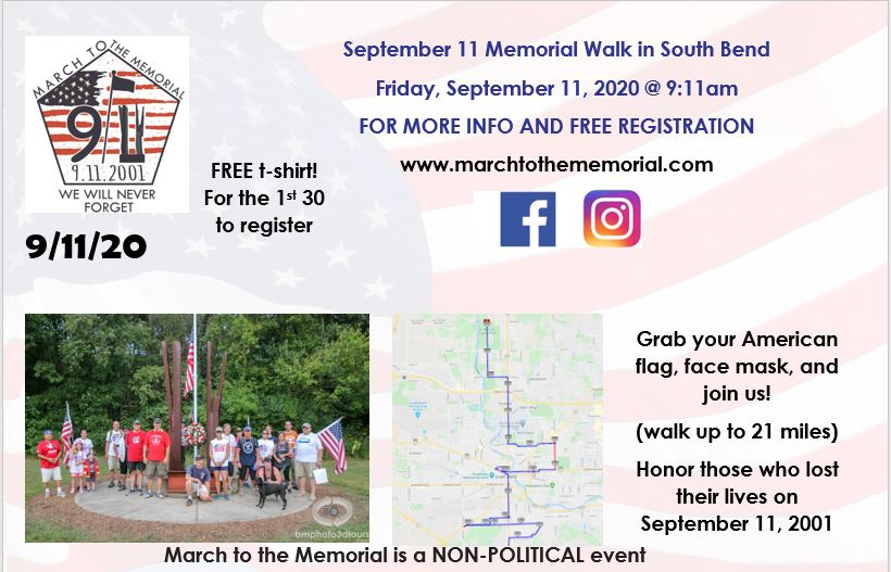 march to the memorial 2020 flyer